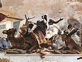 Giovanni Battista Tiepolo Apollo and the Continents [detail 5] painting